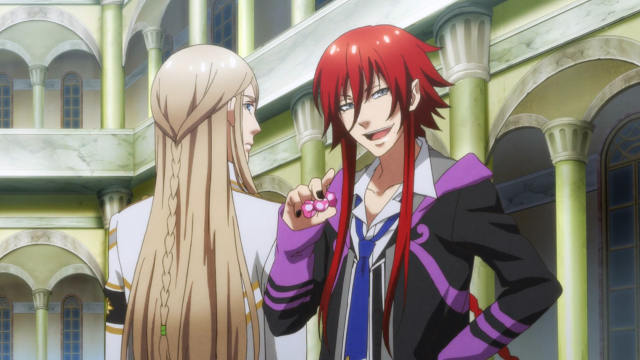 Kamigami no Asobi (ep 1), Here's some candy to keep you busy while I bang this hot guy